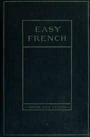 Easy French, a reader for beginners