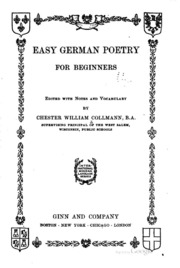 Easy German Poetry for Beginners: using the public library in the search for ...