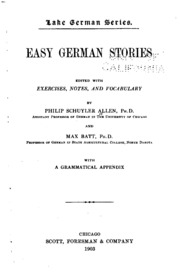 Vol 2: Easy German stories