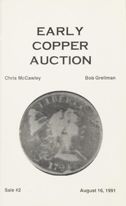 Early Copper Auction #2