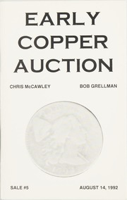 Early Copper Auction #5