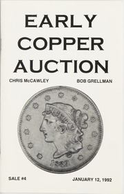 Early Copper Auction #4