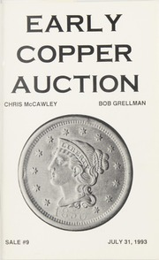 Early Copper Auction #9