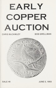 Early Copper Auction #8