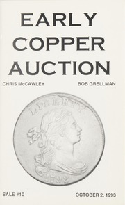 Early Copper Auction #10