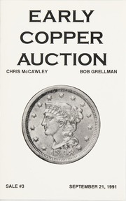 Early Copper Auction #3