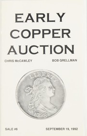 Early Copper Auction #6