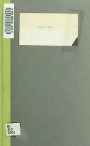 Edgar Tinel; essai biographique par J.L.G