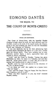 the newfound power of edmond dantes in the novel the count of monte cristo by alexandre dumas
