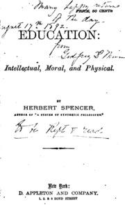herbert spencer essays scientific