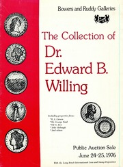Collection of Dr. Edward B. Willing