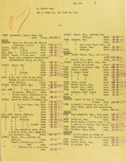 Edwards Gans Invoices from B.G. Johnson, May 3, 1946, to July 8, 1946