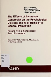 the effect of the health insurance Froelich jm, beck r, novicoff wm, saleh kj growing orthopedic and nonorthopedic literature illustrates the point that having health insurance does not.
