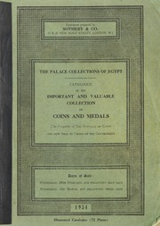 The Palace Collections of Egypt