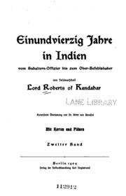 Einundvierzig Jahre in Indien v. 2