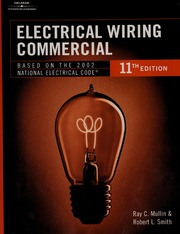 Electrical wiring : commercial : Mullin, Ray C : Free ... on