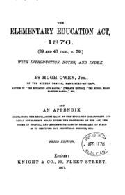 elementary education act 1870 pdf