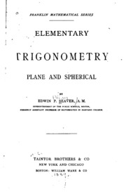 plane and spherical trigonometry Spherical trigonometry 663 bivector of the plane expressed as the dual of the unit vector it should be clear now that (a4b) expresses the fact that is a bivector.