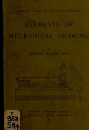 Blueprint reading a practical manual of instruction in blueprint elements of mechanical drawing malvernweather Choice Image