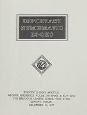 Important Numismatic Books: Eleventh Joint Auction