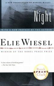 Night By Elie Wiesel Elie Wiesel Free Download Borrow