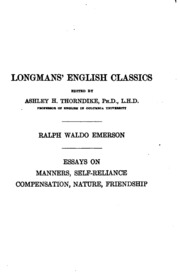emerson essays on compensation