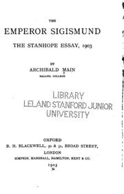 The Emperor Sigismund The Stanhope Essay Writer – 263121