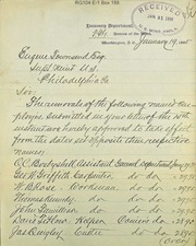 Employees removed (1-19-1895)