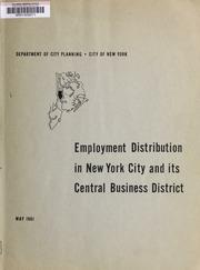 Employment distribution in ...