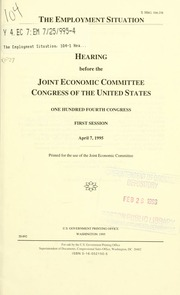 The Balanced Budget Amendment : hearings before the Joint ...