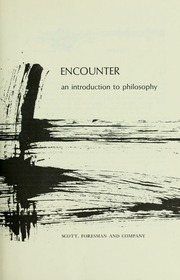 Think a compelling introduction to philosophy blackburn simon join waitlist encounter an introduction to philosophy fandeluxe Images