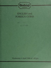 English and foreign coins, [including] a lot of 11 gold coins from the reigns of George III and George IV; a General Dwight D. Eisenhower set of four medals, 1969, struck by Slade, Hampton & Son,  ... [04/04/1990]