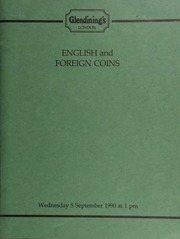 English and foreign coins, [including] the collection of trade union badges, medals, medallions and ribbons, formed by N.L. Whetton, Esq.; [also] a Louis XVI, Constitutional ecu, 1792 BB (Strasbourg); [and] a collection of gold coins, the property of a deceased collector; [etc.] ... [09/05/1990]