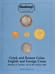 English and foreign coins, including a rare group of academic and personal medals awarded to Sir Benjamin Collins Brodie, Sr., and his son, Sir Benjamin Collins Brodie, Jr.; pennies of William I; Maundy money sets, ... [10/03-04/1988]