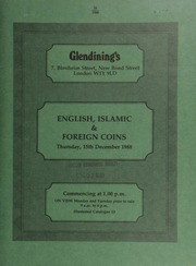 English, Islamic and foreign coins, [including] further staters from the \Chute Hoard\, second find, summer, 1986; a Sir Winston Churchill, death, 1965, gold medal, by Kovaks for Spink & Son; a U.S.A. dollar, 1799, 13 stars; [also] many proof and miscellaneous coin sets, [etc.] ... [12/15/1988]