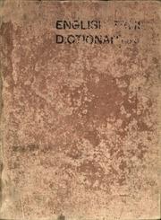 English-Tshi (Asante) : a dictionary = Enyiresi-Twi nsem