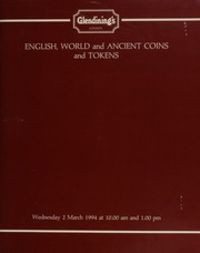 English, world, and ancient coins and tokens, [including] a small collection of Oddfellows jewels and related items; miscellaneous medals badges and tokens, a collection of Scottish and other Communion tokens,  ... [03/02/1994]