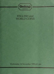 English and world coins, [including] a collection of Maundy sets, the property of Mrs. I.C. Power of London; [also] a Peru, enamelled sol, 1888,  ... [11/14/1990]