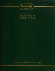 English and world coins, [including] an Edward III post-Treaty period, noble, Calais, flag at stern; [and] a George II guinea, 1731, second young head, crowned shield; a George IV two pounds, 1823 (S. 3798); a George III pattern Bank of England dollar, 1804;  ... [02/06/1991]