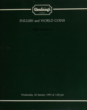 English and world coins, [including] early Anglo-Saxon sceattas, such as the dragon type, and the extremely rare \grotesque bearded face\ type; 21 lots of Edward I-III pennies from the Stanwix (Cumbria) Hoard, 1986-7,  ... [01/20/1993]