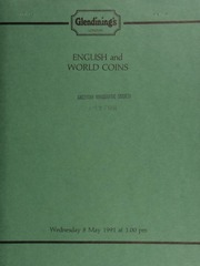 English and world coins, [including] a collection of sovereigns and half-sovereigns; 133 19th and 20th century base issues of the Channel Islands; \The Genius of Rembrandt\ set of 48 silver medallions, by John Pinches;  ... [05/08/1991]