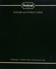 English and world coins, [including] an Italy, Victor Emanuel, 100-lire, 1872; a collection of the coins of the Netherlands, Belgium, and Luxembourg; coins of Switzerland, from private sources in [England] and abroad;  ... [03/11/1992]