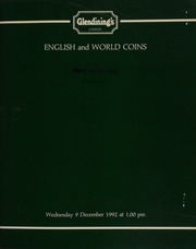 English and world coins, [including] a small group of coins from the family of Raoul Robellaz Kahan; a small group of Norwich pennies; a collection of countermarked dollars; a third and final consignment of mint-state Elizabeth II Commonwealth Games, ... [12/09/1992]