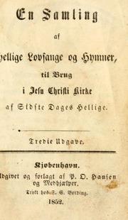 Hellige lovsange og hymner (1852)