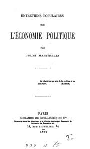 Entretiens populaires sur l-économie politique