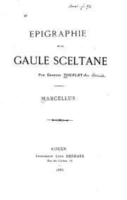 Epigraphie de la Gaule sceltane