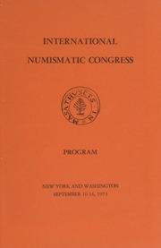International Numismatic Congress Ephemera