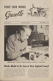 First Iron Works Gazette Vol. 2 No. 5