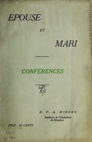 Epouse et mari : Conferences