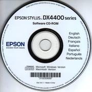 pilotes epson stylus dx4400